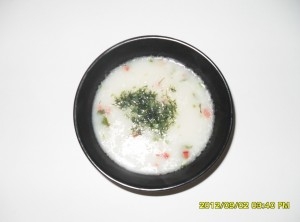 Картофена супа с прясно мляко