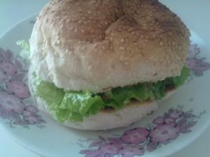 Сандвич с лук
